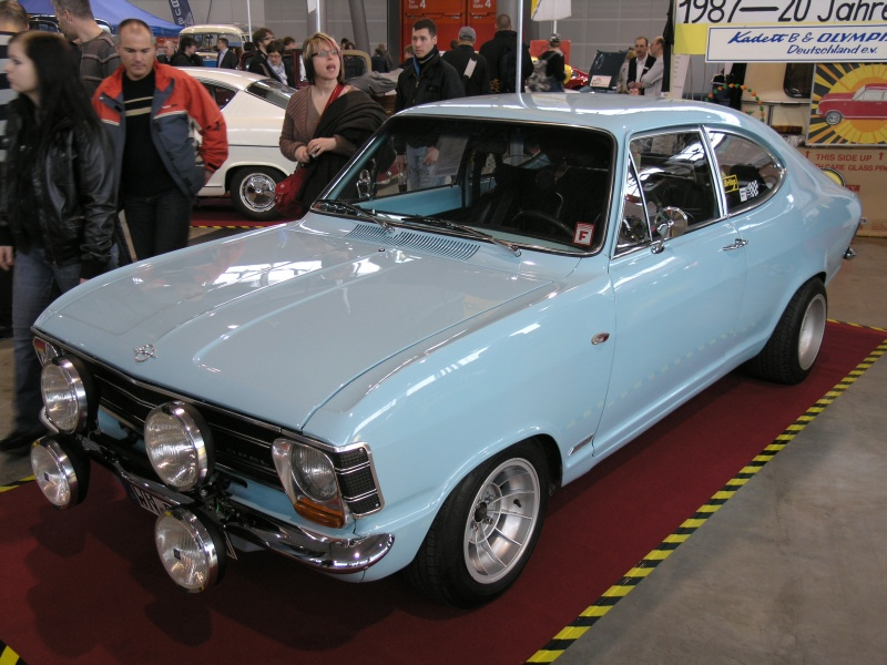 retro classics stuttgart 2010 opel kadett b coupe. Black Bedroom Furniture Sets. Home Design Ideas